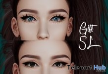 Dark & Blue Mesh Eyes 5L Promo Gift by Be you - Teleport Hub - teleporthub.com