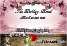 The Wedding March Shopping Event & Hunt - Teleport Hub - teleporthub.com