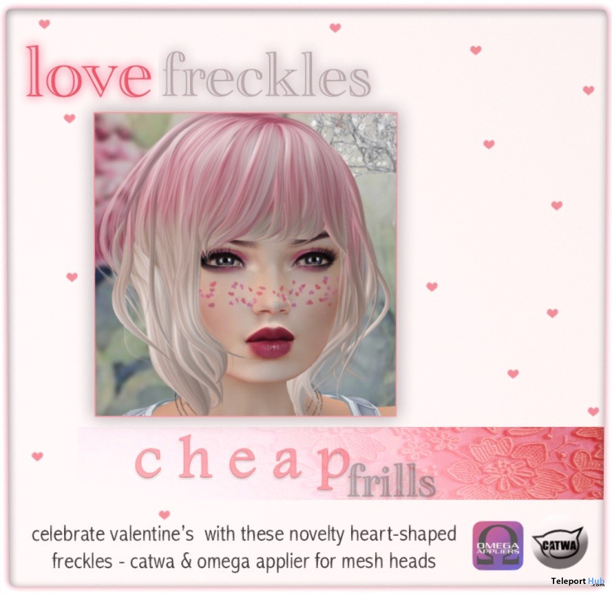 Love Freckles Valentine 2018 Gift by Cheap Frills - Teleport Hub - teleporthub.com