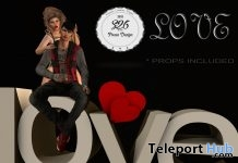 Love Couple Pose With Props February 2018 Group Gift by S26 Pose Store - Teleport Hub - teleporthub.com