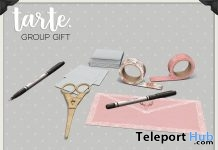 Craft Clutter March 2018 Group Gift by tarte - Teleport Hub - teleporthub.com
