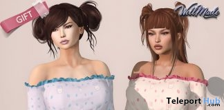 Elodie Top March 2018 Group Gift by [WellMade] - Teleport Hub - teleporthub.com