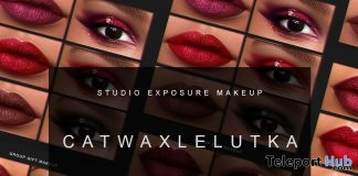 March Makeup Collection For Catwa & Lelutka Heads March 2018 Group Gift by STUDIO EXPOSURE MAKEUP - Teleport Hub - teleporthub.com