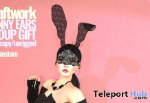 Bunny Ears March 2018 Group Gift by KraftWork - Teleport Hub - teleporthub.com