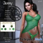 Jenny Tank & Thong March 2018 Group Gift by Blacklace - Teleport Hub - teleporthub.com