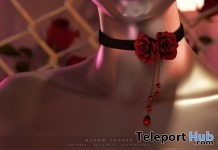 Bloom Choker March 2018 Group Gift by toksik - Teleport Hub - teleporthub.com