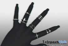 Flash Ring Set March 2018 Group Gift by CHAIN - Teleport Hub - teleporthub.com