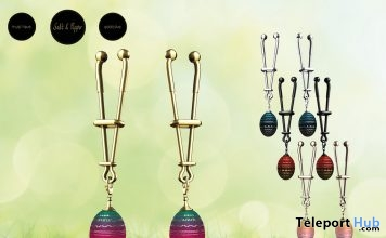 Easter Egg Clamps March 2018 Group Gift by Salt & Pepper - Teleport Hub - teleporthub.com