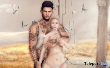 Birds Couple Poses 1L Promo Gift by Two Souls Poses - Teleport Hub - teleporthub.com