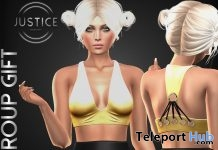 Kristina Halter Top March 2018 Group Gift by JUSTICE - Teleport Hub - teleporthub.com