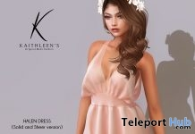 New Release: Halen Dress by Kaithleen's @ Shiny Shabby March 2018 - Teleport Hub - teleporthub.com