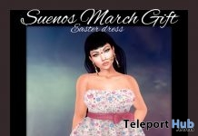 Easter Dress March 2018 Gift by Suenos - Teleport Hub - teleporthub.com