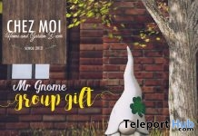 Mr Gnome March 2018 Group Gift by Chez Moi Furniture - Teleport Hub - teleporthub.com