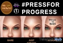PressForProgress Sweaty Face Makeup Appliers March 2018 Gift by auNaturel - Teleport Hub - teleporthub.com