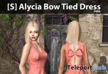 New Release: [S] Alycia Bow Tied Dress by [satus Inc] - Teleport Hub - teleporthub.com
