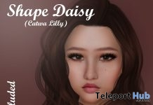 Daisy Shape For Catwa Lily Head 10L Promo by Be you - Teleport Hub - teleporthub.com