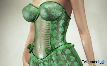 Patrick Corset Dress Group Gift by HEC @ Crazy Fashion March 2018 Event - Teleport Hub - teleporthub.com