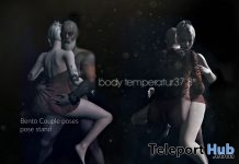Body Temperature 37.8 Degree Bento Couple Pose March 2018 Group Gift by Andika - Teleport Hub - teleporthub.com