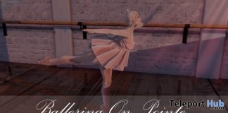 Ballerina On Pointe 1L Promo Gift by Two Souls Poses - Teleport Hub - teleporthub.com
