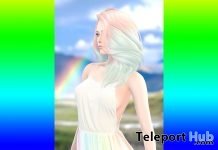Iza Dress Rainbows The Liaison Collaborative 5th Anniversary Gift by Neve - Teleport Hub - teleporthub.com