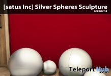 Silver Spheres Sculpture Group Gift by [satus Inc] - Teleport Hub - teleporthub.com