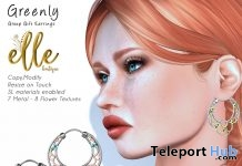 eenly Earrings April 2018 Group Gift by Elle Boutique - Teleport Hub - teleporthub.com