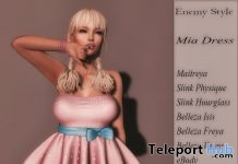 Mia Dress April 2018 Group Gift by Enemy Style - Teleport Hub - teleporthub.com