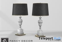 Marble Lamp April 2018 Group Gift by Fancy Decor - Teleport Hub - teleporthub.com