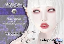 Vampire Skin April 2018 Group Gift by petit chambre - Teleport Hub - teleporthub.com