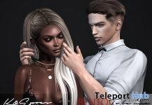 To Be Nice Bento Couple Pose April 2018 Group Gift by K&S Poses - Teleport Hub - teleporthub.com