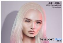 Cessy Hair Special Color 2nd Anniversary Group Gift by Letituier - Teleport Hub - teleporthub.com