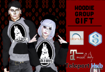 Unisex Hoodie April 2018 Group Gift by Dark & White - Teleport Hub - teleporthub.com