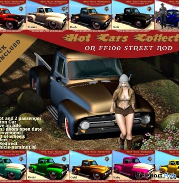 FF100 Street Rod Super Pack Promo by Optmus Race - Teleport Hub - teleporthub.com