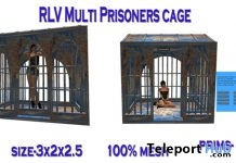 RLV Multiprisoners April 2018 Group Gift by Cage Carissa Design - Teleport Hub - teleporthub.com