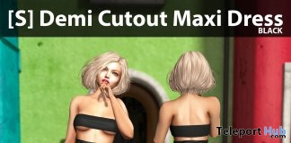 New Release: [S] Demi Cutout Maxi Dress by [satus Inc] - Teleport Hub - teleporthub.com