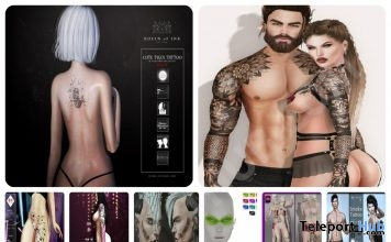 Several Tattoo & Makeup Gifts At Bodyfy Event 2nd Anniversary Round by Various Designers - Teleport Hub - teleporthub.com