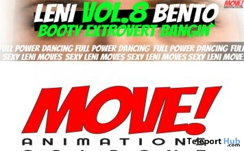 New Release: LENI Vol 8 Bento Dance Pack by MOVE! Animations Cologne - Teleport Hub - teleporthub.com