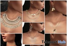 Several Necklaces, Earrings, & Bracelets Group Gift by NaaNaa - Teleport Hub - teleporthub.com