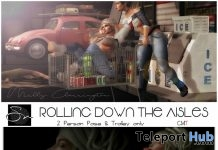 Eva's Rose & Rolling Down The Aisles Poses April 2018 Group Gift by Something New - Teleport Hub - teleporthub.com