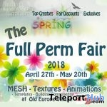 The Spring Full Perm Fair at Old Europe 2018 - Teleport Hub - teleporthub.com