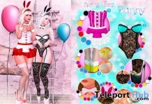 Lesty Spring Hunt Bunny April 2018 - Teleport Hub - teleporthub.com