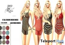 Asalah Lace Dress Fatpack 12 Colors 1L Promo Gift by Braham Design - Teleport Hub - teleporthub.com