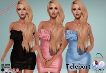 Lori Dress Fatpack May 2018 Group Gift by Hilly Haalan - Teleport Hub - teleporthub.com