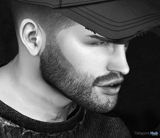 Odin Facial Hair Catwa & Omega Appliers May 2018 Group Gift by Volkstone - Teleport Hub - teleporthub.com