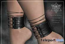 Ankle Cuffs May 2018 Group Gift by Psycho Barbie - Teleport Hub - teleporthub.com