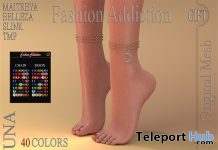 Luna Anklet Fatpack May 2018 Group Gift by Fashion Addiction - Teleport Hub - teleporthub.com