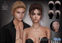 Mike Unisex Hair May 2018 Group Gift by Sintiklia - Teleport Hub - teleporthub.com