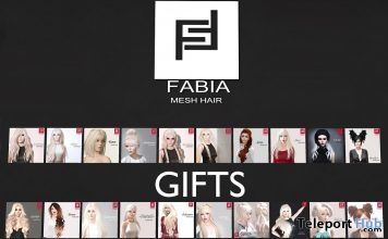 35 Hair Packs May 2018 Group Gifts by FABIA - Teleport Hub - teleporthub.com