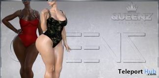 Swimsuits Fatpack May 2018 Group Gift by QUEENZ - Teleport Hub - teleporthub.com