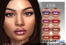 Leah Lipstick For Catwa Heads May 2018 Group Gift by LIVIA - Teleport Hub - teleporthub.com